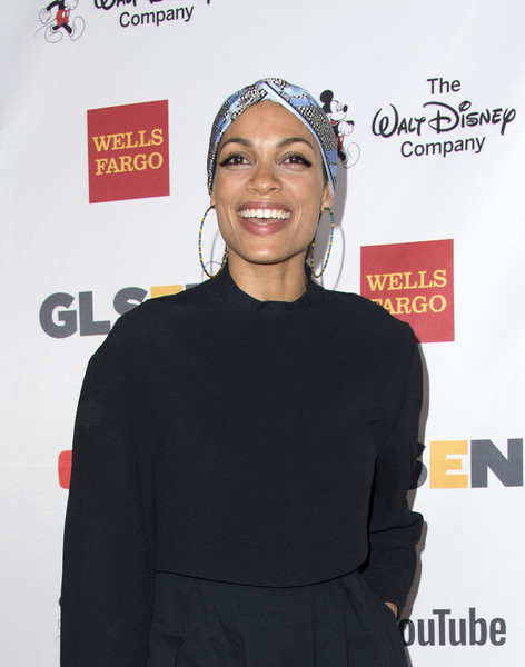 More Pics of Rosario Dawson Costume Hoops (1 of 24) - Rosario Dawson Lookbook - StyleBistro