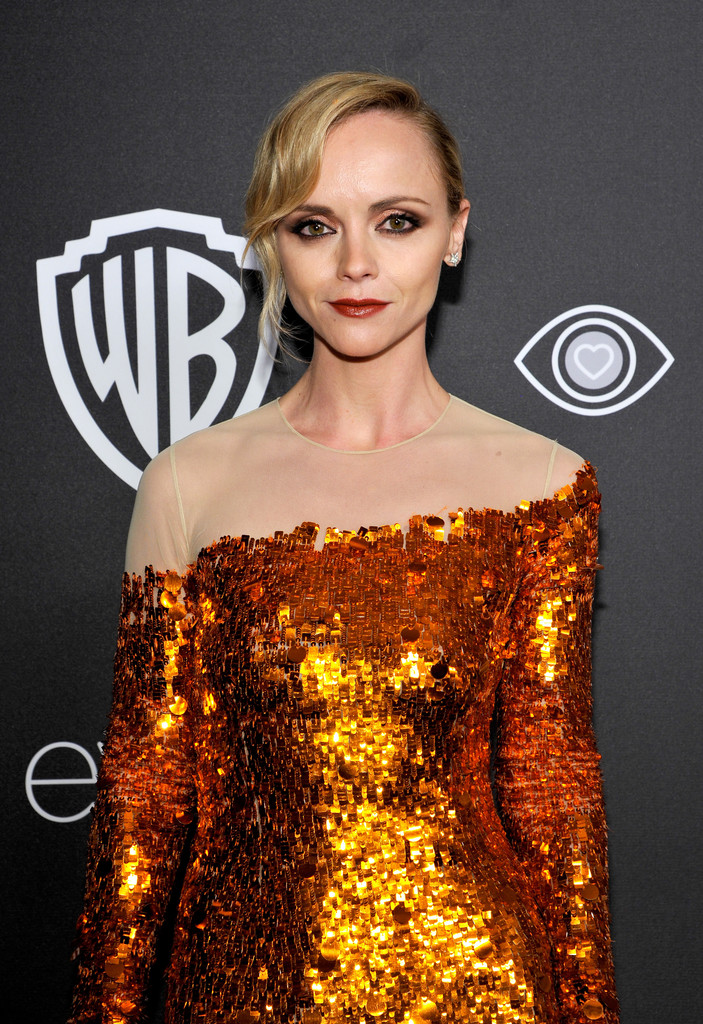 More Pics of Christina Ricci Retro Updo (2 of 5) - Retro ... Christina Ricci