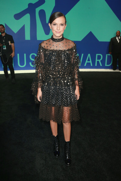 Millie Bobby Brown in Rodarte