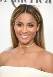 Ciara looked oh-so-lovely even with this simple straight hairstyle at the 2017 Miss America competition.
