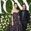Liu Wen in Zac Posen at the Tony Awards
