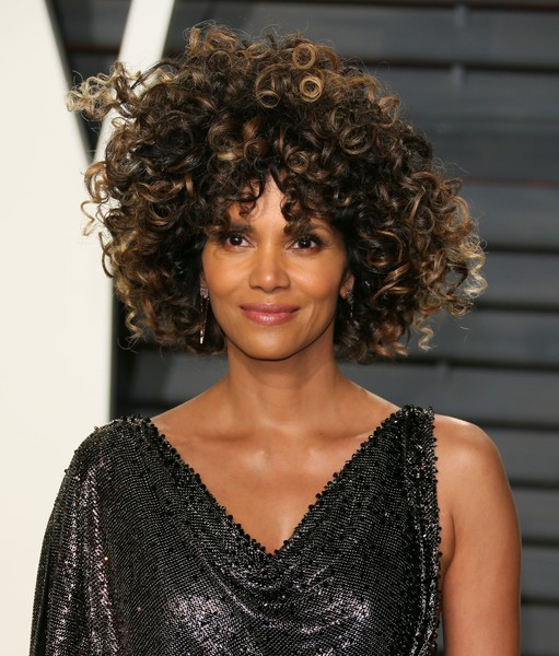 Halle Berry's Thick Ringlets