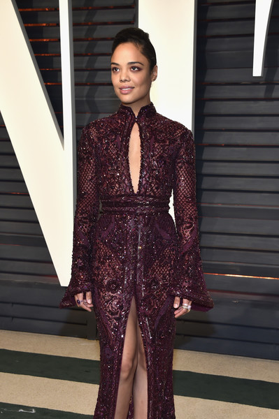 Tessa Thompson in Zuhair Murad Couture (wearing Ileana Makri jewelry)