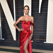 Alessandra Ambrosio in Ralph & Russo at the Vanity Fair Oscar Party
