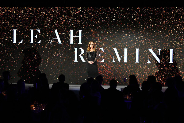 More Pics of Leah Remini Corset Dress (1 of 14) - Leah Remini Lookbook - StyleBistro [leah remini,performance,text,font,sky,concert,event,stage,crowd,performing arts,public event,new york city,a e]