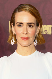 Sarah Paulson kept it simple with this short side-parted 'do at the 2018 Entertainment Weekly pre-Emmy party.