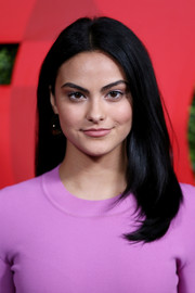 Camila Mendes kept it sweet and simple with this center-parted style at the 2018 GQ Men of the Year party.