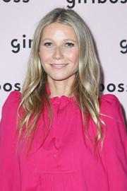 Gwyneth Paltrow wore her trademark boho hairstyle at the 2018 Girlboss Rally.