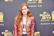 Sadie Sink Evening Pumps