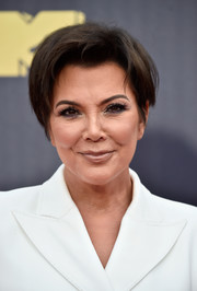 Kris Jenner attended the 2018 MTV Movie & TV Awards wearing her signature short 'do.