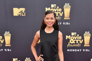 Storm Reid Little Black Dress