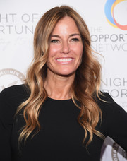 Kelly Bensimon showed off hippie-glam waves at the 2018 Night of Opportunity Gala.
