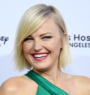Malin Akerman attended the 2018 From Paris with Love Gala wearing this side-parted straight cut.