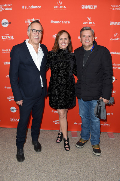 More Pics of Molly Shannon Gladiator Heels (1 of 16) - Molly Shannon Lookbook - StyleBistro [private life premiere,red,event,premiere,suit,john cooper,ted sarandos,molly shannon,eccles center theatre,utah,park city,netflix,sundance film festival]