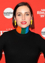 Zoe Lister Jones kept it low-key with this bob at the 2018 Sundance Film Festival.