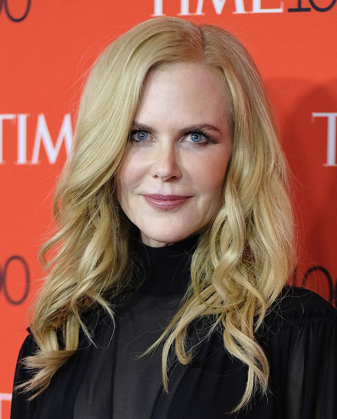 Nicole Kidman looked lovely with her high-volume waves at the 2018 Time 100 Gala.