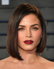 Jenna Dewan-Tatum polished off her look with a perfect red lip.