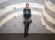 Princess Maria-Olympia donned a cute printed mini dress for the 2019 Guggenheim International Gala pre-party.