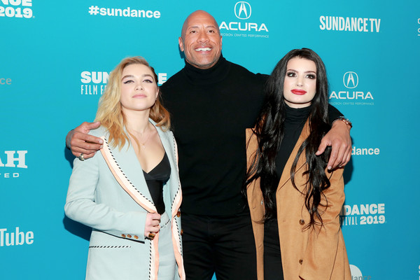 More Pics of Florence Pugh Pumps (7 of 8) - Heels Lookbook - StyleBistro [surprise screening of ``fighting with my family,fighting with my family,event,premiere,paige,florence pugh,dwayne johnson,l-r,the ray,utah,sundance film festival,surprise screening]