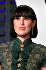 Rumer Willis looked cute with her bob and eye-grazing bangs at the 2019 Vanity Fair Oscar party.
