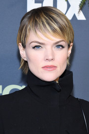 Erin Richards sported a cute pixie at the 2019 Winter TCA Tour.