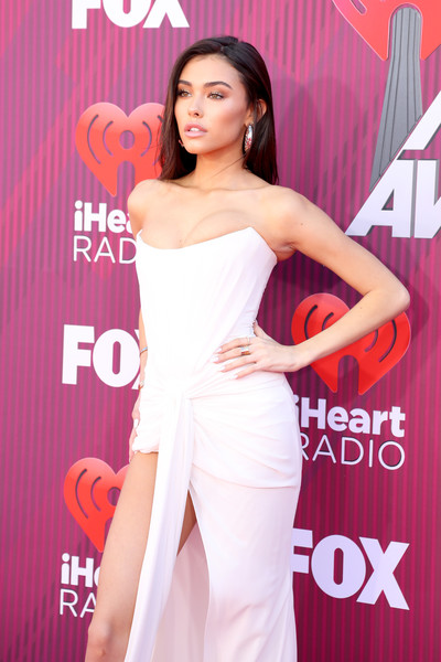 More Pics of Madison Beer Diamond Ring (3 of 9) - Gemstone Rings Lookbook - StyleBistro [red carpet,shoulder,dress,clothing,beauty,lady,joint,premiere,skin,fashion model,hairstyle,madison beer,iheartradio music awards,commercial use,california,los angeles,microsoft theater,fox]