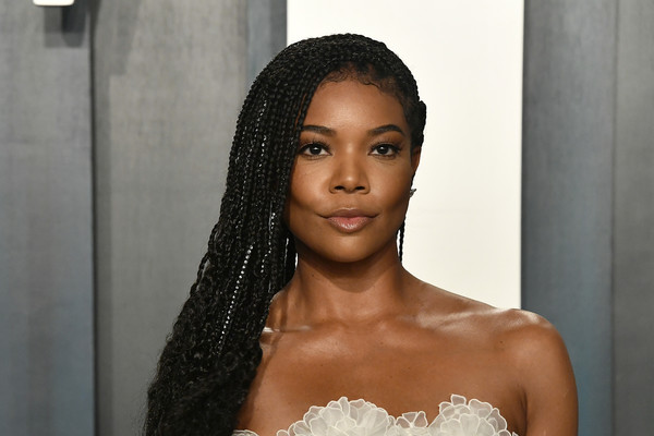 More Pics of Gabrielle Union Evening Sandals (2 of 11) - Gabrielle Union Lookbook - StyleBistro [hair,face,eyebrow,hairstyle,beauty,lip,skin,black hair,forehead,long hair,radhika jones - arrivals,radhika jones,gabrielle union,beverly hills,california,wallis annenberg center for the performing arts,oscar party,vanity fair,gabrielle union,oscar party,wallis annenberg center for the performing arts,americas got talent,celebrity,vanity fair,photograph,actor,model]