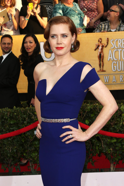 More Pics of Amy Adams One Shoulder Dress (1 of 15) - Amy Adams Lookbook - StyleBistro