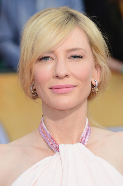 More Pics of Cate Blanchett Twisted Bun (1 of 17) - Twisted Bun Lookbook - StyleBistro