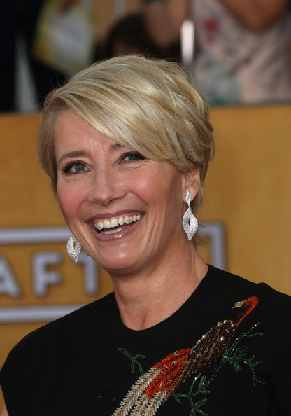 Emma Thompson's Side-Swept Bangs