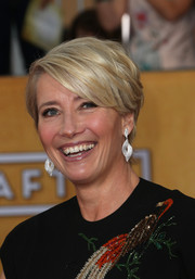 Emma Thompson looked breezy at the SAG Awards with her short layered cut.