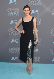 Emmy Rossum's sequin-accented Dior LBD at the Critics' Choice Awards was oh-so-elegant in its simplicity!