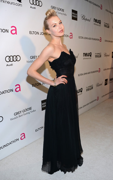 Penelope Mitchell at Elton John's 2013 Oscars Party