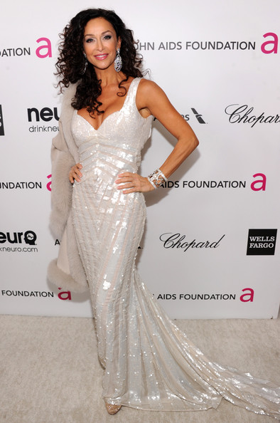 Sofia Milos at Elton John's 2013 Oscars Party
