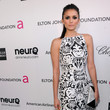 Nina Dobrev Wore Naeem Khan at Elton John's 2013 Oscars Party