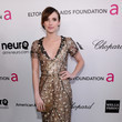 Emma Roberts Wore Oscar de la Renta at Elton John's 2013 Oscars Party