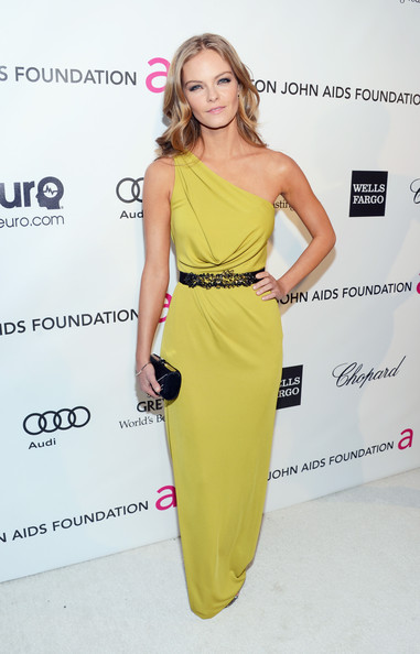 Jessica Perez Wore BCBG Max Azria at Elton John's 2013 Oscars Party