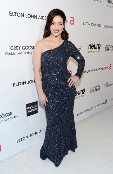 Sadie Alexandru at Elton John's 2013 Oscars Party