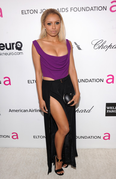 Kat Graham at Elton John's 2013 Oscars Party