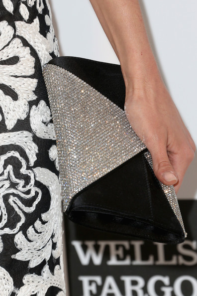 More Pics of Nina Dobrev Envelope Clutch  (1 of 10) - Envelope Clutch  Lookbook - StyleBistro