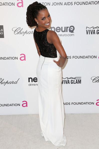 More Pics of Shanola Hampton Evening Dress (1 of 3) - Evening Dress Lookbook - StyleBistro