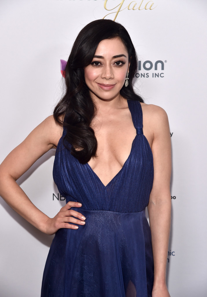 More Pics Of Aimee Garcia Evening Dress 6 Of 10