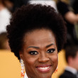 Viola Davis' Full Afro and Look-at-Me Lashes