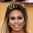 Laverne Cox's Braided Crown and Daring Smoky Eye