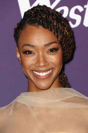 Sonequa Martin-Green rocked a multi-braid hairstyle at the 2019 Costume Designers Guild Awards.