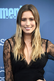 Renee Bargh hit the Critics' Choice Awards rocking an ombre 'do.