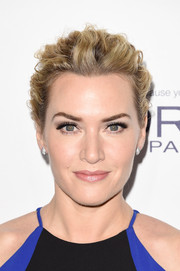 Kate Winslet swept her locks back into a textured bun for the Elle Women in Hollywood Awards.