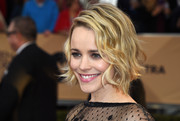 Rachel McAdams kept it youthful and cute with this wavy bob at the SAG Awards.