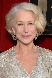 Helen Mirren styled her bob with just a bit of wave for the SAG Awards.