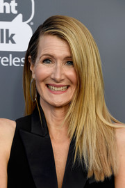 Laura Dern sported a modern layered cut at the 2018 Critics' Choice Awards.